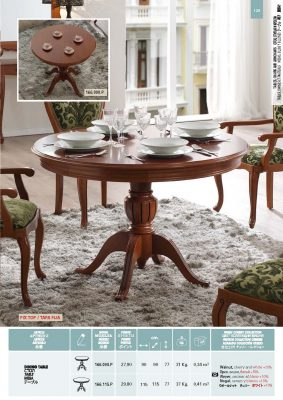 Collections Panamar Dining Room 166.090.P, 166.115.P