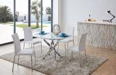 Dining Room Furniture Modern Casual Dining Sets 2303 Table and 3450 Chairs